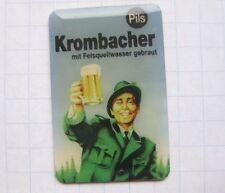 KROMBACHER PILS mit Felsquellwasser / PLAKAT ............Bier-Pin (102d)