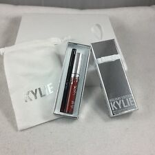 KYLIE Holiday Edition 2016 Merry Lip Kit w Gift Drawstring Bag Lipstick & Liner