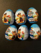 6 x PAW PATROL Surprise egg kids party bag fillers Christmas stockings lot