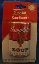 NEW CAMPBELLS SOUP CAN 60 MINUTE KITCHEN TIMER CAN-TIMER COOKING FREE SHIPPING