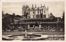 LILLESHALL SHROPSHIRE UKLILLESHALL HALL~WEST FRONT~REAL PHOTO POSTCARD 1928 PSTM