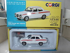 Corgi VA09519 Ford Escort Mk1 Mexico Diamond White 60th Anniversary