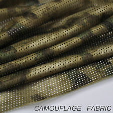 "A-TACS FG Camouflage Camo Net Cover Army Military 60""W Mesh Fabric Cloth"