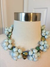 J CREW  POP CRYSTAL STATEMENT NECKLACE NWT usa seller $158