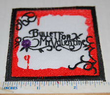 BULLET FOR MY VALENTINE NEW PATCH MATT TURK UK IMPORT