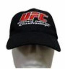 UFC ultimate fighting championship black cap / hat MMA TAPOUT HOMME NEUF Flexfit