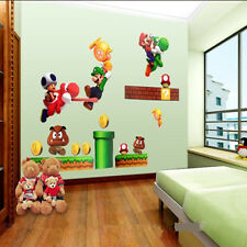 Removable Super Mario Kids Nursery Wall Decal Vinyl Stickers Art Home Decor