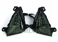 Smoke Color Front LED Turning Signals For Kawasaki ZX-14R 2006-2012