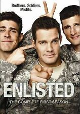 Enlisted: The Complete First Season,New DVD, Angelique Cabral, Parker Young, Chr
