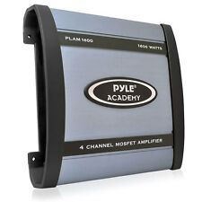 New Pyle PLAM1600 1600 Watts 4 Channel Bridgeable Amplifier Car Audio Amp