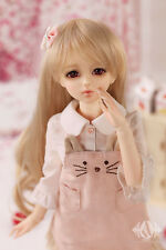AS DOLL MSD Size 1/4 Kid Bjd Doll Clothes Pink Kitty Dress Fullset