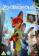 Zootropolis [DVD] New And Sealed, Free Fast Delivery.