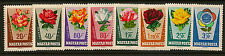 FLOWERS :  Hungary 1962 Roses set SG 1828-34 unmounted mint