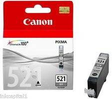 1 x Canon CLI-521GY Grey Original OEM Inkjet Cartridge For MP990, MP 990