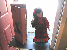"""Vintage - 1989 Limited Edition (Marian Yu) Porcelain Asian Christmas Doll 21"""""""