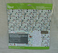 "Cricut Washi Sheets, ""Woodland""  (5) - 12"" x 12"" Sheets ~ NEW"