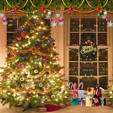 Xmas Tree 10'x10' CP Backdrop Computer printed Scenic Background L-816