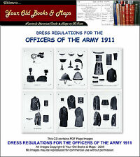 DRESS REGULATIONS FOR THE OFFICERS OF THE BRITISH ARMY 1911 CDROM