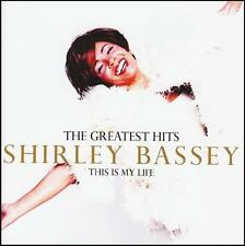 SHIRLEY BASSEY - GREATEST HITS: THIS IN MY LIFE CD ~ BEST OF / JAMES BOND *NEW*