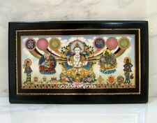 Feng Shui - 2017 Om Mani Padme Hum Blessing Plaque