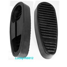 1PC 6 Position Rifle Stock Recoil Butt Pad Rubber Snap-on Non-Slip (black)