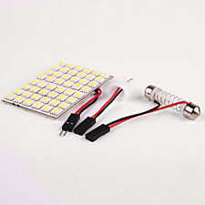 Pure White Car Interior 48 5050 SMD LED Light Lamp Panel T10 Dome