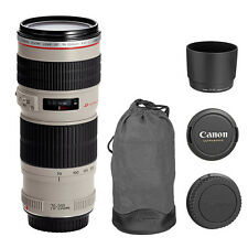Canon EF 70-200mm f/4L USM Telephoto Zoom Lens for Canon DSLR, BRAND NEW
