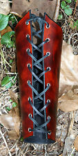 *ON HAND* SINGLE Leather Lace Up Archer Bracer Arm Armor SCA LARP armour archer