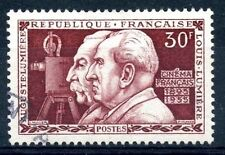 STAMP / TIMBRE FRANCE OBLITERE N° 1033 LES FRERES LUMIERE