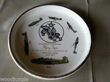 RARE Vintage FLYING TIGERS ASHTRAY 1977 14th AIR FORCE ASSOCIATION  USAF