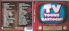2 CD DIGIPACK TV TOONS CARTOONS 46T SIMPSON/ALBATOR/CANDY/BUNNY/POPEYE/SCOOBIDOU
