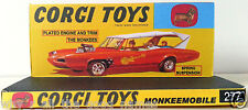 CUSTOM REPRO DISPLAY for CORGI Die-Cast 277 Monkees MONKEEMOBILE D.I.Y Sheet