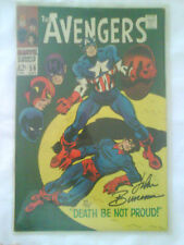 """Marvel Collectors Comic book The Avengers """"Death Be Not Proud"""" #56 SEPT"""