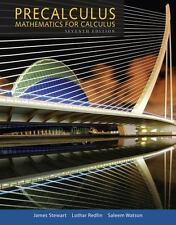 NEW Precalculus: Mathematics for Calculus 7TH EDITION (HARDCOVER TEXTBOOK)