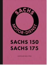 Sachs 150 175 ccm Motor Reparaturanleitung Handbuch Montageanleitung Daten