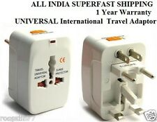 UNIVERSAL International  Travel Adaptor Surge Protector Converter Charger Plug