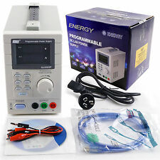 QJ3005P USB PROGRAMMABLE DC LAB POWER SUPPLY 0-30V/5A USB 2.0 LCD Screen AU