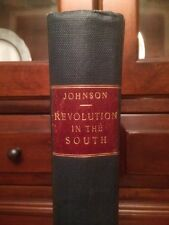 RARE 1851 American Revolution in The South, Upper County SC Charleston, 1st MAPS