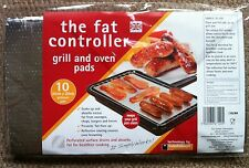 FAT CONTROLLERS, FAT TRAPPER COOKING PADS. GRILL & OVEN PADS, ABSORBS FATS -10