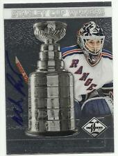 2012-13 Limited Stanley Cup Winners Signatures #SC-46 Mike Richter 32/99 Rangers