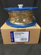 New #16 Double steel Jack Chain Brass Plated 200 ft Reel Box, 11 Lb Rating, Gold