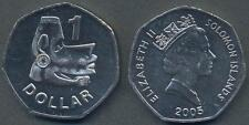 SOLOMON ISLANDS 1 Dollar 2005 UNC