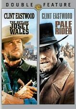 The Outlaw Josey Wales/Pale Rider Clint Eastwood (DVD, 2014, 2-Disc Set) NEW