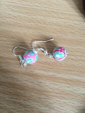 Polymar Fimo Clay Bead Earrings