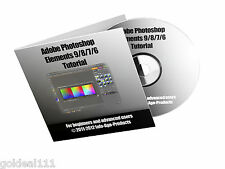 Adobe Photoshop Elements Versions 5-9 VIDEO TUTORIAL