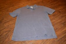 F7- Fossil Classic Fit Purple Short Sleeve Polo Shirt Size L