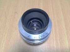 Bell Howell Lumax 25mm 1 inch F1.9 Cine Prime Fast C-Mount Lens for BMPCC GH4