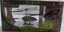 Sky Rover Bandit Helicopter Can Rise, Fall, Turn Left & Right Color Gyro - Red