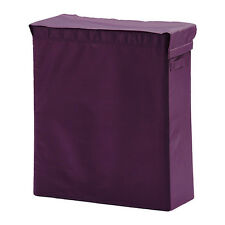 IKEA Skubb Laundry Washing Clothes Basket with stand Lilac NEW