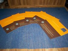 5 STARBUCKS Recovery Coupons - FREE Any Size Drink NO Exp Date!